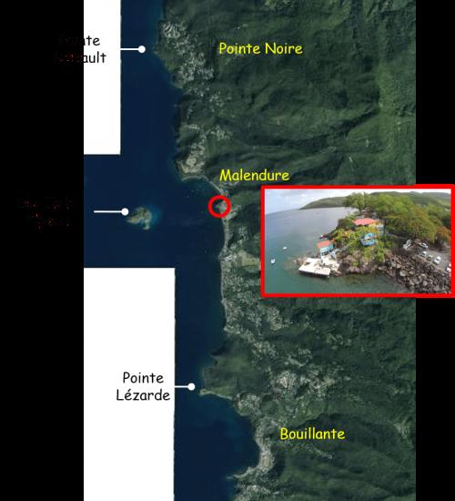 Carte spots PNG Limites extremes