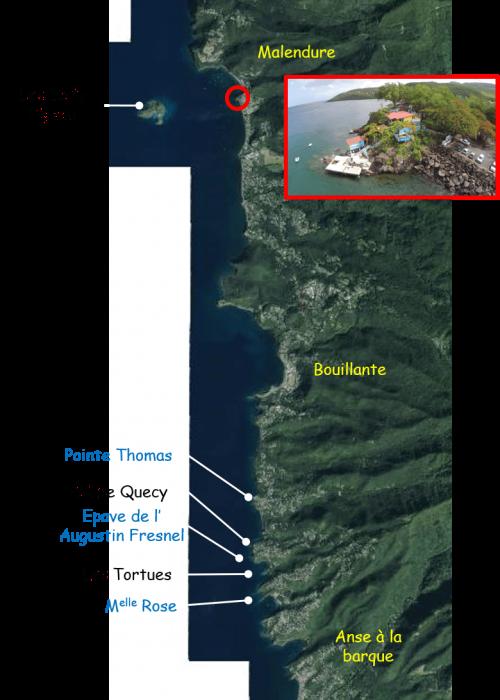 Carte spots hors PNG